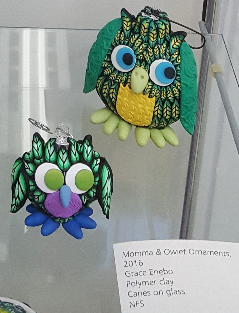 Momma and Owlet Ornaments