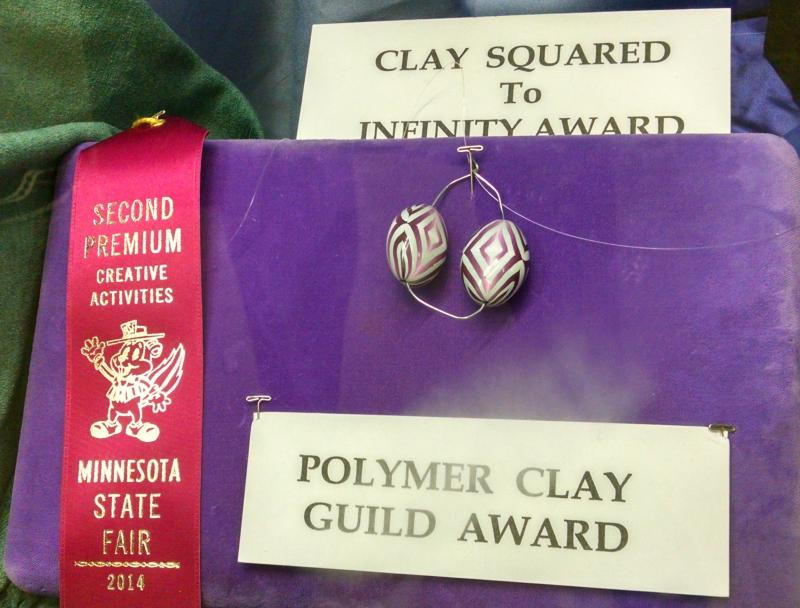 2nd Place - Polymer Clay Beads