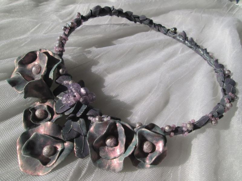Iridescent Morning - Necklace