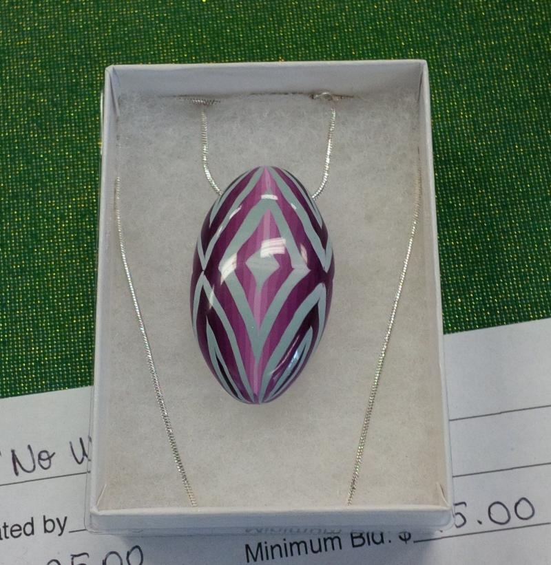 """No Worry"" Pendant - Donated for the AaW 2013 Silent Auction"