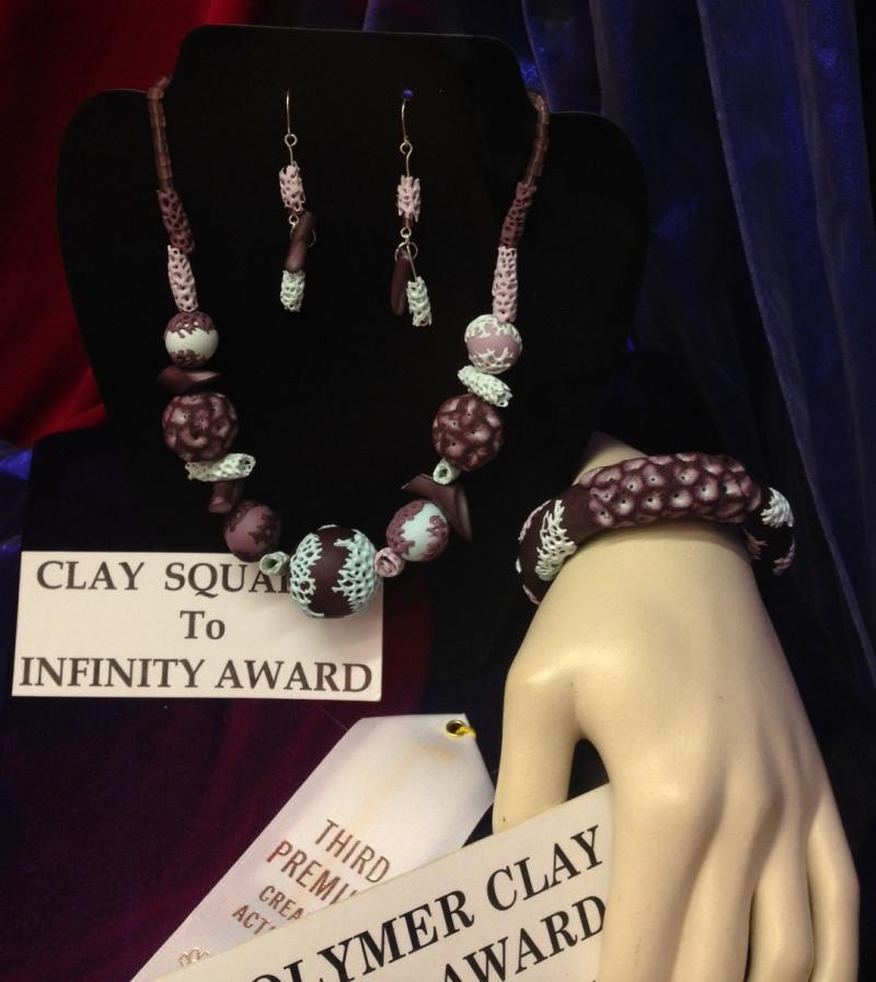 3rd place - Polymer Clay Jewelry